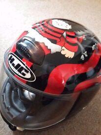 HELMET HJC ZF8 with visor.