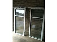 SELECTION OF PVC DOUBLE GLAZED WINDOWS AND FRAMES