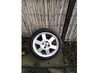 Ford sport ka alloy and tyre