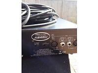 Pro sound 2 channel 1000w class d amplifier