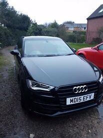 Audi A3 TDI S line 2015 with comfort package (Sat Nav, cruise control, automatic lights and wipers)