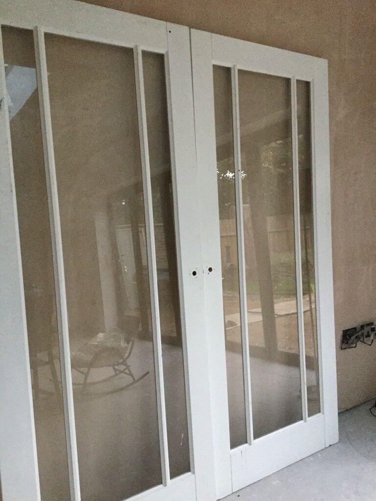 Internal Double Glass Panel Doors In Brough East Yorkshire Gumtree
