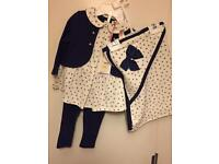 Baby girls outfit 0-3