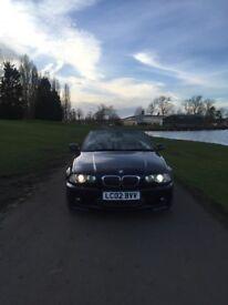 BMW 330ci convertible 2002 m sport manual