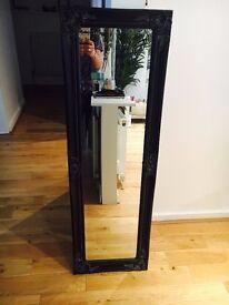 Antique Ornate Hallway Mirror