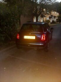 mini one 2001 private plate included