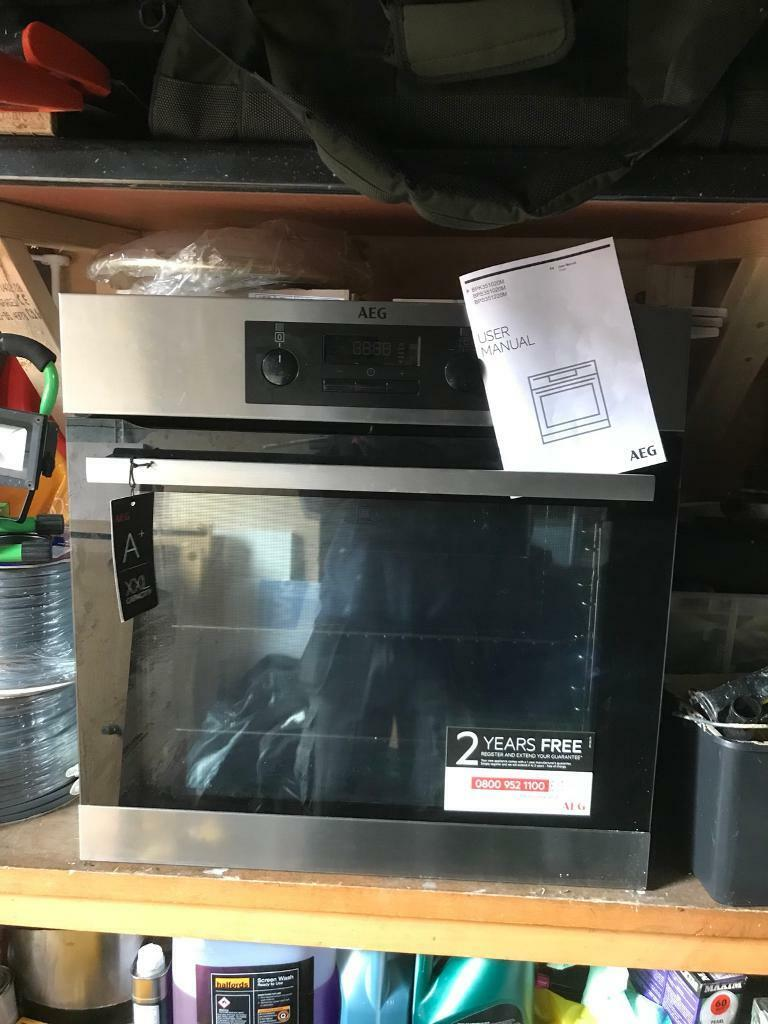Aeg single bilt in steamer oven self cleaning