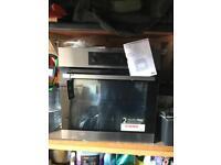 Aeg single bilt in steamer oven self cleaning