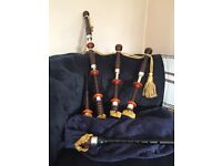 Unknown vintage bagpipes