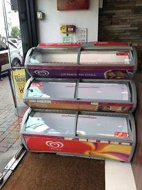 Walls Ice Cream Freezer Chiller 3 Tiers