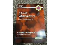 Alevel Chemistry OCR Revision and practice book