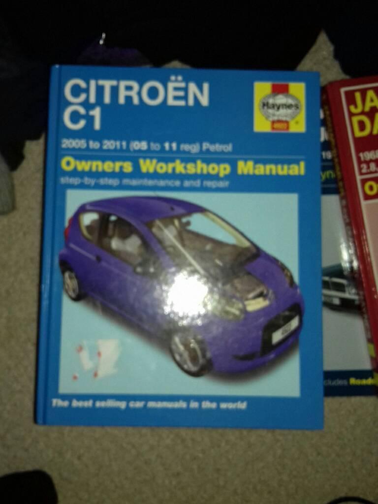 Citroën c1 work shop manual Paignton