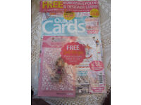 QUICK CARDS AND DO CRAFTS CREATIVITY MAGAZINNES BOTH WITH GIFTS card making insiration