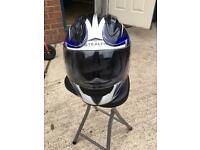Bran new L/60 motor bike helmet