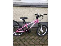 Girls Carrera mountain bike