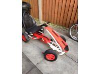 Pedal racing car