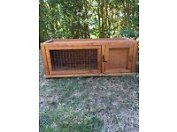 Rabbit hutch for sale , almost new