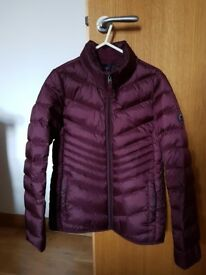 Women's Abercrombie & Fitch Lightweight Down Puffer Jacket - like new - size small