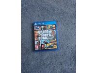 Grand Theft Auto PS4 Game