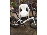Nice unisex Saxon folding bike 🚴. Sensible offers