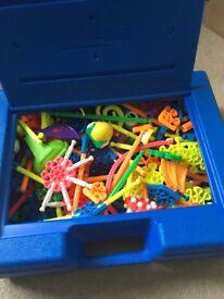 Box of kid k'nex