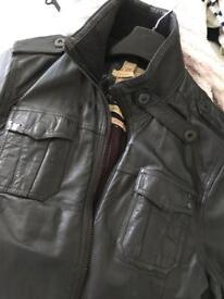 Leather jacket. Men's