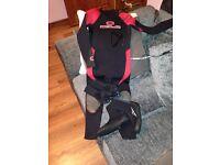 Child's wetsuit & bodyboard
