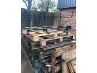 Pallets/Timber (Free, perfect for bonfires)