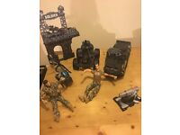 Children's army toys - good condition