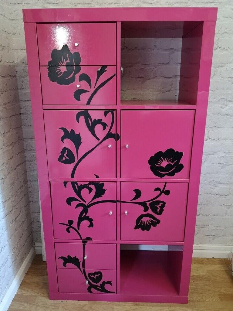 Ikea Lack Pink Gloss Cube Cupboard Unit In Northolt London Gumtree