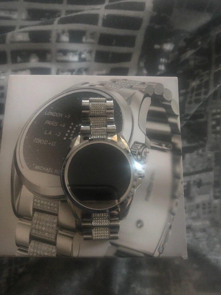 Michael Kors access smart watch Bradshaw diamanté strap