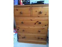 John Lewis Solid Wood Chest of Drawers