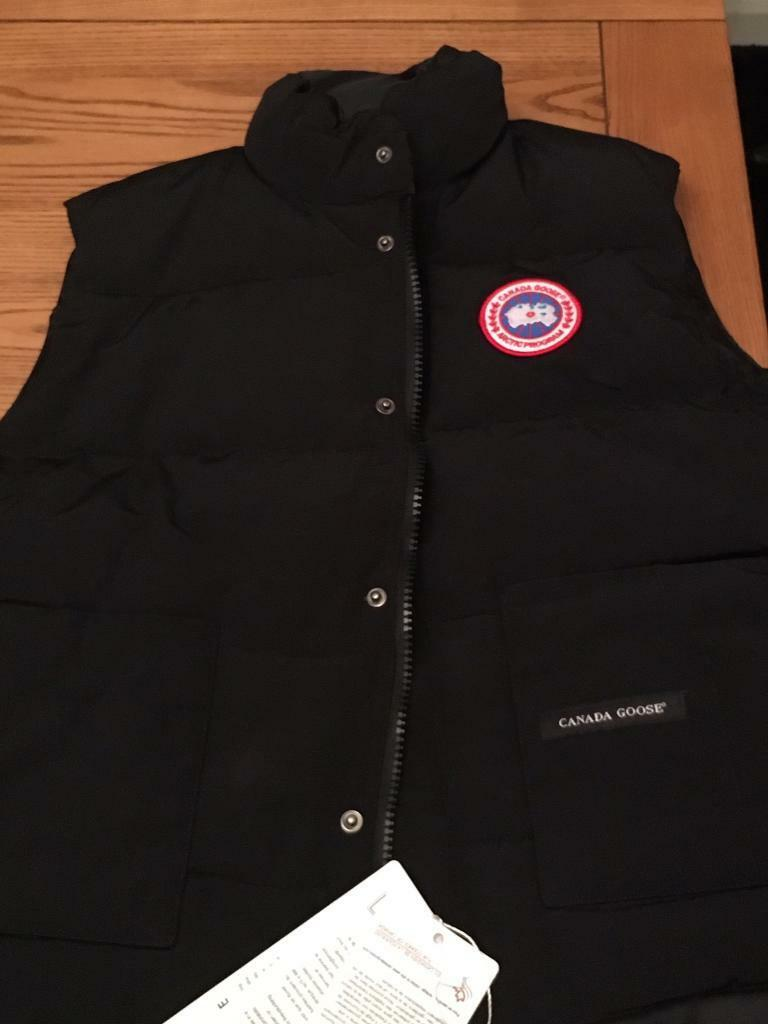 canada goose gilet size guide