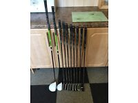 Woodworm golf clubs