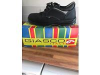 Giasco safety shoe steel toe cap size 9