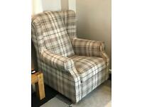 NEXT check fireside wing back arm chair.