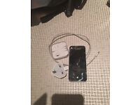 Apple IPhone 5c 16gb White EE - charger and headphones