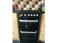 Hotpoint Ultimate double gas oven