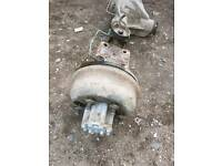 LDV AXLE. EXCELLENT CONDITION TWIN REAR WHEELS