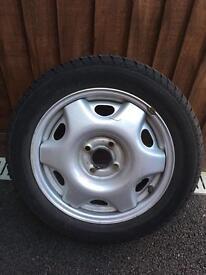 Car wheel Vauxhall