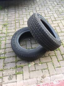 2x 16inch winter tyres..