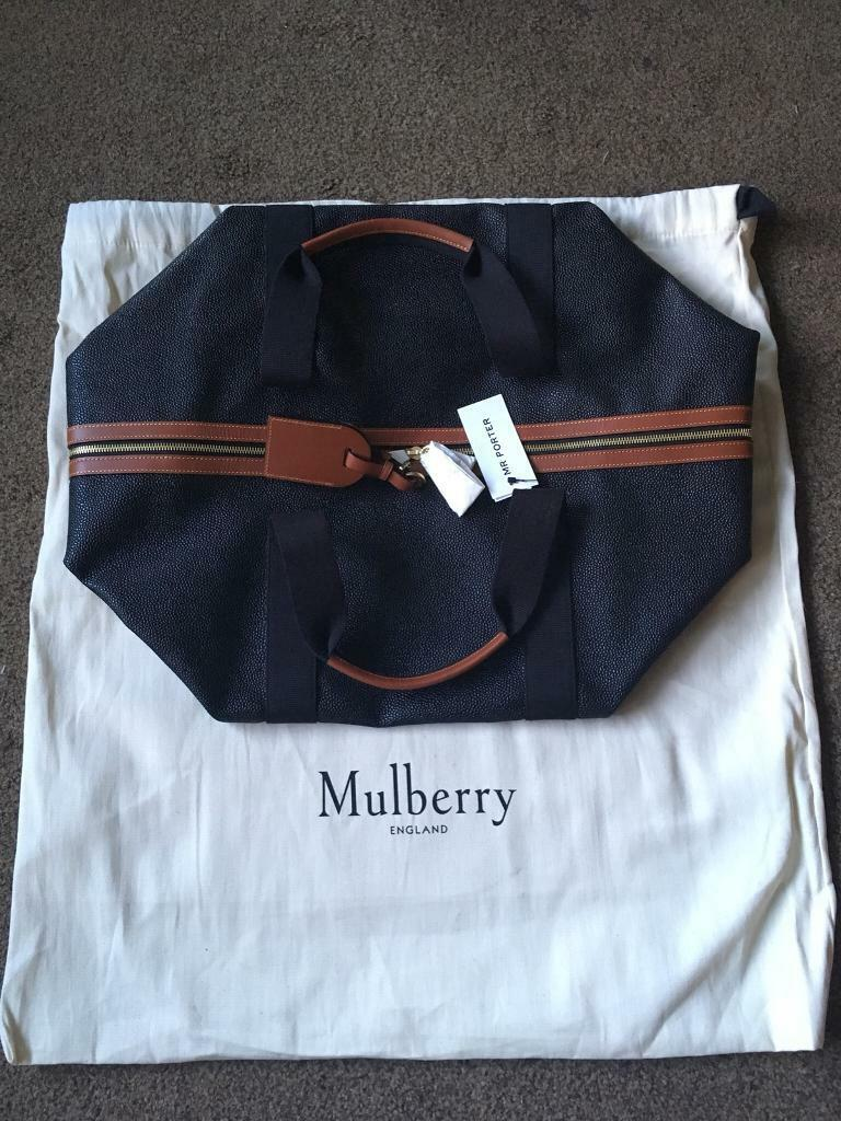 11d5c6e038a where can i buy mulberry clipper weekend bag 52127 75f43