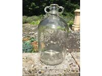 Demijohn Glass Bottles / Jars for wine and alcohol making. 24 bottles.