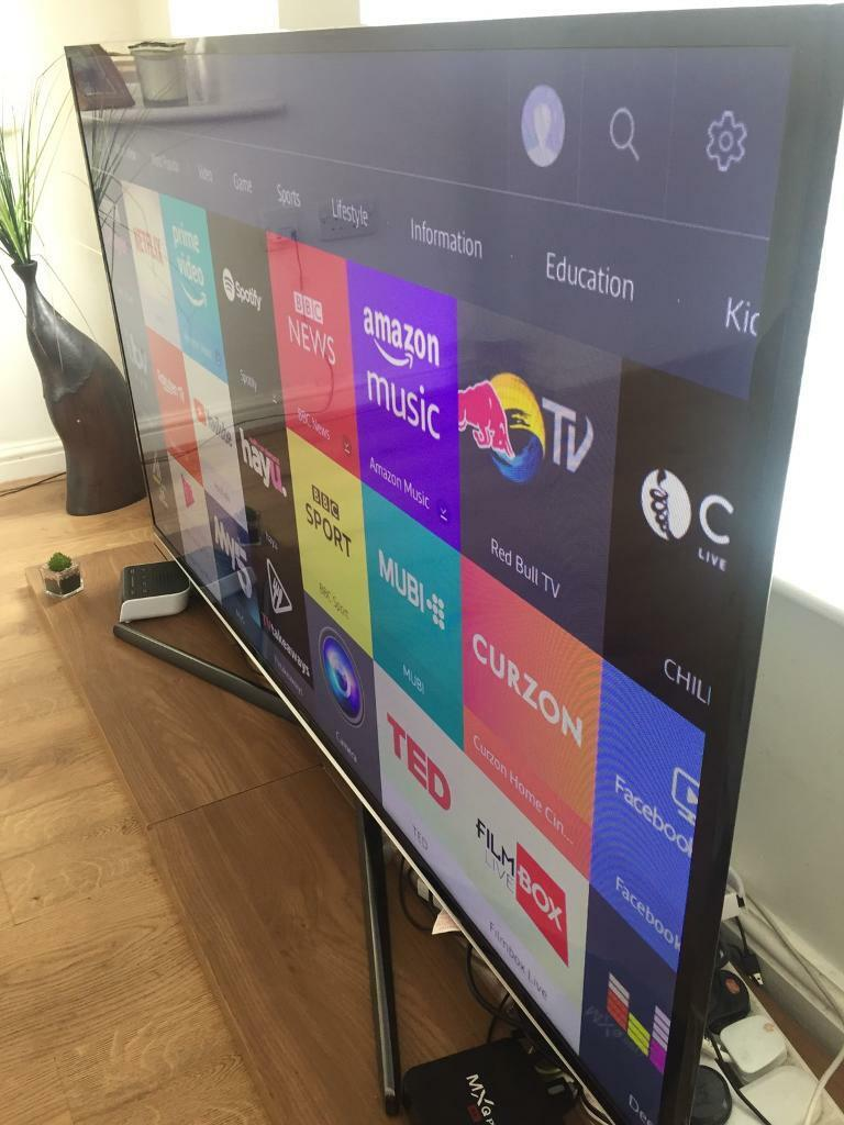 Huge 60 inch smart Samsung Tv 4hdmi 3 usb WiFi and Bluetooth connectivity  100 of apps super slim tv   in Everton, Merseyside   Gumtree