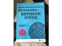 GCSE higher maths revision guide and workbook