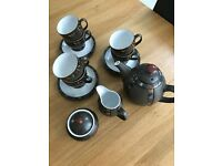 Denby Marrakesh Teapot Set