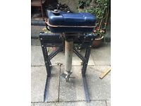 Seagull Outboard, exhibition stand, outboard and manual