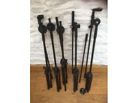 Collection of Mic/Microphone stands