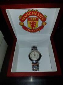 Klaus Kobec Ltd.Edn. Manchester United Signature Watch