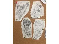 £100 each cheap tattoo for promotion